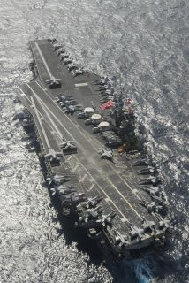 USS Kitty Hawk CV63 USS George Washington CVN73 8X12