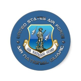 US Air National Guard Stickers
