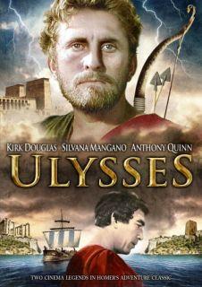 Ulysses New SEALED DVD 1954 Kirk Douglas 012236100669
