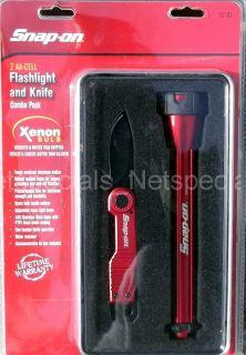 On Multi Tool Xenon Flashlight Stainless Steel Knife Gift Set Tin Box