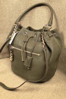 Michael Kors Joan Bag Knox Large Black Leather Satchel