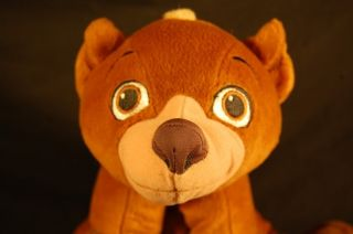 Plush Disney Brother Bear Koda Movie DVD Stuffed Toy