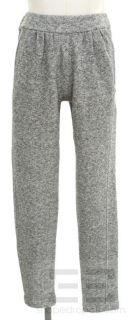 Isabel Morant Etoile Heather Gray Pleated Knit Pants Size 0