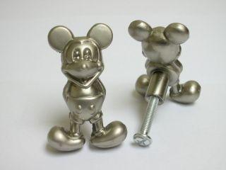 05 Mickey Mouse Cabinet Door Metal Knobs