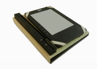 Kobo Borders Chapters Wi Fi eReader Case w Built in Never Lose Light