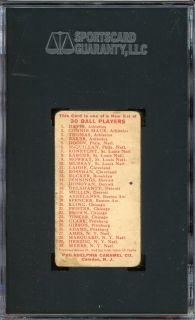 1910 E96 Kling Chicago Cubs SGC 20