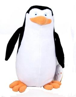 The Penguins of Madagascar Kowalski Plush 8 Soft Toy TV Serie