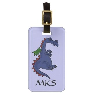CB  Blue Dragon Luggage Tag