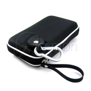 Kroo Black Eva Protective Travel Carrying Case Pouch for Nintendo DS