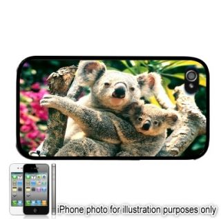 Koalas Koala Bear Photo Apple iPhone 4 4S Case Cover Skin Black