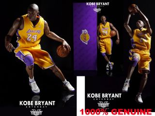 NBA Kobe Bryant Los Angeles Lakers 1 6 Scale Enterbay Action Figure CH