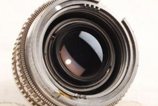 Kodak Ektra RF 50mm F 1 9 Lens Caps Metal Case Nice