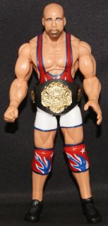 Kurt Angle TNA Deluxe Impact 6 Toy Wrestling Action Figure