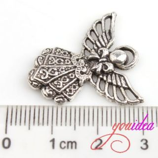 Tibetan Silver Fairy Girl Charm Pendant Beads FIT Jewelry MAKING G613