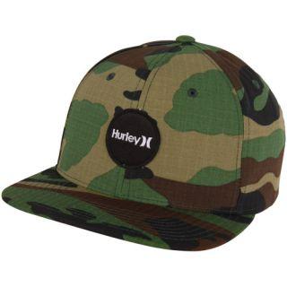 Hurley Krush Snapback Hat Camo