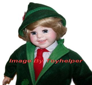 Royal House of Dolls 20 Boy Doll St Patricks Day