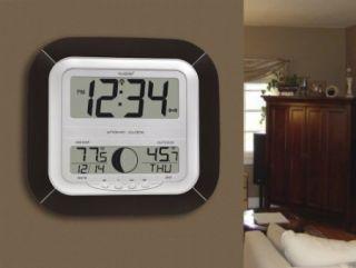 New La Crosse Technology WS 8418U It Atomic Digital Wall Clock with