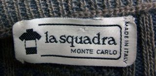 La Squadra Monte Carlo Italian Exclusive with Angora Great Mens