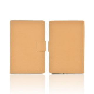 New Tan Kroo USA Dash Leather Case Cover Holder for  Kindle Fire