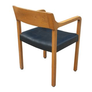 Mid Century Modern Krug Wood Arm Chairs