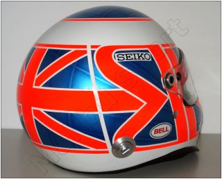 Jenson Button 2008 F1 Honda Replica Helmet Scale 1 1