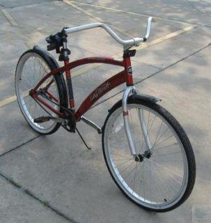 Next La Jolla 29 Bike Red Lightweight Aluminum One Speed Street