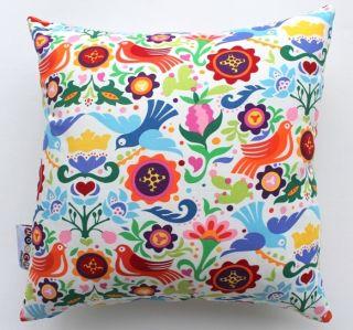 New La Paloma Mexican Folk Art Girls Scatter Cushion Cover Decorative
