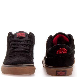 Lakai Manchester Suede Skate Boy Girls Kids Shoes Sz 6