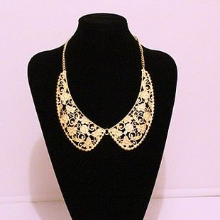 2012 Celebrity Inspired Lady Fashion Hollowed Out Pattern Collar Bib