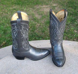 Tony Lama Cowboy Boots Mens 9EE