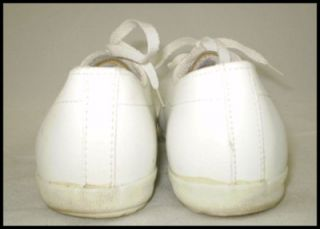 Vtg 80s La Gear White Leather Sneakers Tennis Shoes 7 5