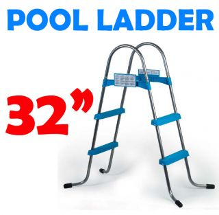 New 32 inch Above Ground Swimming Pool A Frame Ladder