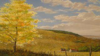 American California Artist ~ Frank Magsino b1937 ~ Landscape Painting