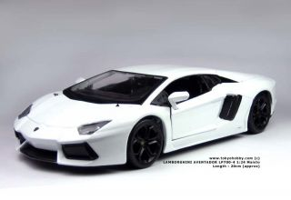 Lamborghini Aventador LP700 4 Maisto 1 24 New