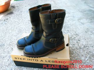 Ladies Harley Davidson Express Lane Boots Size 7 5 M Black Box
