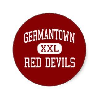 Germantown   Red Devils   High   Germantown Stickers
