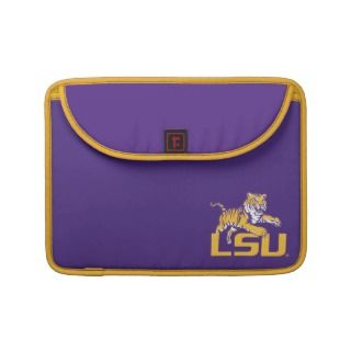 Tiger Over LSU   Gold MacBook Pro Sleeve