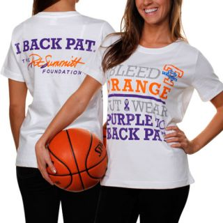 Tennessee Lady Vols Ladies We Back Pat T Shirt White 3X