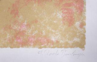 Graciela Rodo Boulanger Original Lithograph Hand Signed