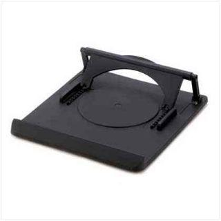 Universal Laptop Computer Desk Stand Portable Rotating Base Adjustable