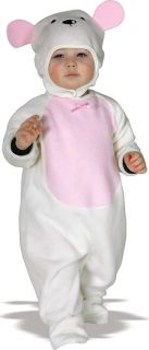 Fuzzy Lamb Infant Child Costume 1T 2T