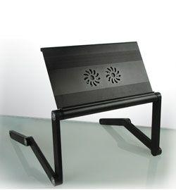 Laptop Stand Table 17  Lap Desk Laptop Cooling Pad Fan Ultimate
