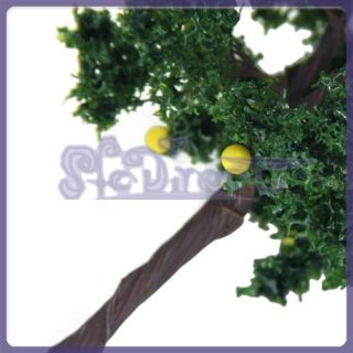 Scenery Landscape Model Fruit Tree Christmas Decor