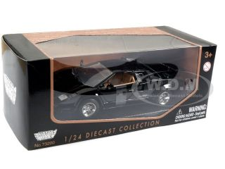 Lamborghini Countach Black 1 24 Diecast Model Car by Motormax 73219