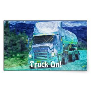 Tanker Truck Big Rig Driver Sticker Series