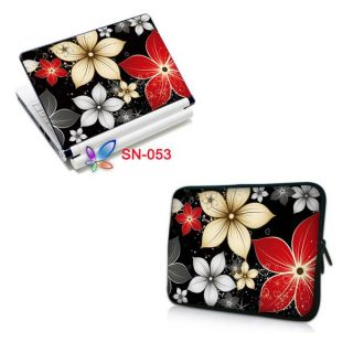 Noble Flower 9 10 10 2 Laptop Netbook Case Bag Sticker Skin Cover
