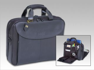 Dell Genuine Leather Laptop Bag/Case for up to 16 Laptops