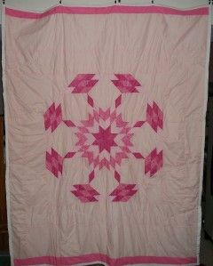 LAKOTA Sioux Native American Star Quilt 79 x 60