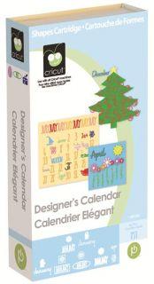 Designers Calendar Cartridge for All Cricut Machines NIP