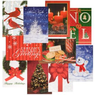 Christmas Cards Xmas House 20 Ct Packs 48 Pcs Lot 960 Total Wholesale